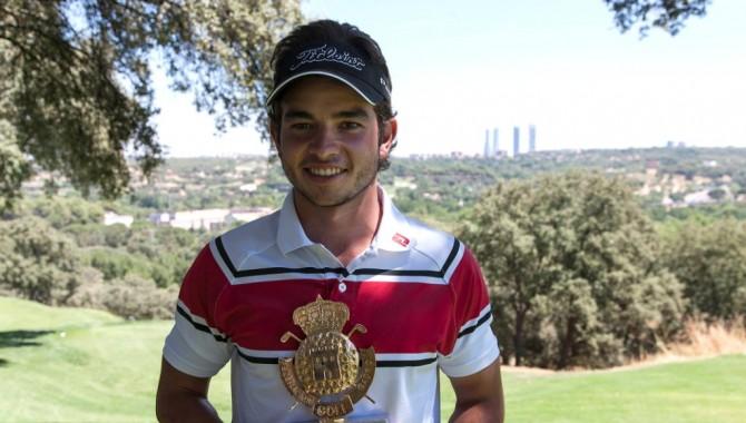 El amateur Jorge Simón (-6) se impuso en la décimo tercera prueba del Circuito de Madrid de Profesionales