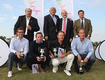 """Javier Gutiérrez, del Grupo Vocento, ganador de la V Copa Comunicación y Empresas, dentro del marco """"Andalucía Destino de Golf"""""""