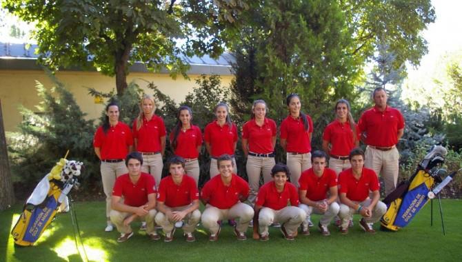 Los alumnos de la quinta promoción del Programa Cetema, de la Federación de Golf de Madrid, inician el curso