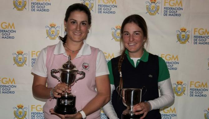 Eva Domingo, campeona del Abierto madrileño.Luna Sobrón, séptima, mejor golfista federada por Madrid