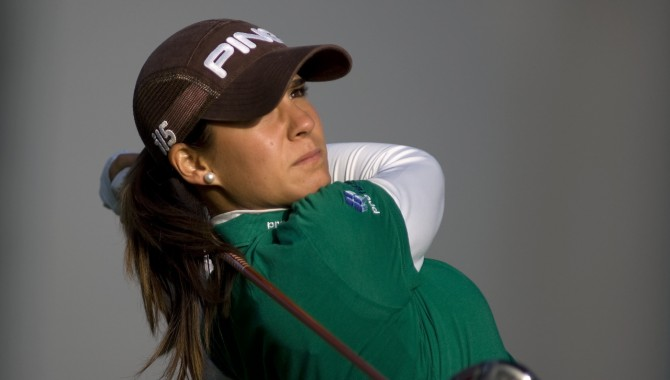 Azahara Muñoz (-4), segunda en Taiwan, a 5 golpes de Suzann Pettersen, en un torneo del LPGA sin jugadoras chinas