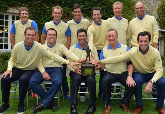 Europa Continental vence (15 & 13) a GB & I, y conquista el Seve Trophy 13 años después, con Olazábal de capitán