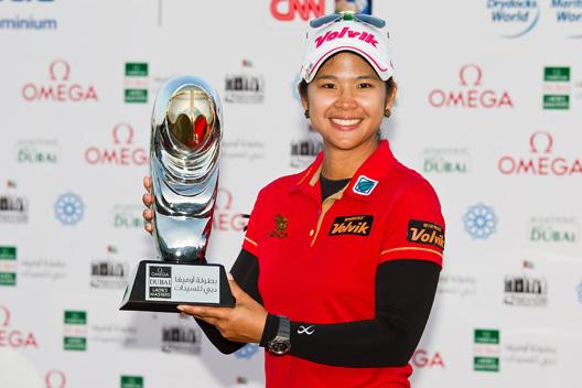 Phatlum Pornanong (-15) despidió el LET 2013, con su victoria en el Omega Dubai Ladies Masters, con Carlota Ciganda (-7), tercera