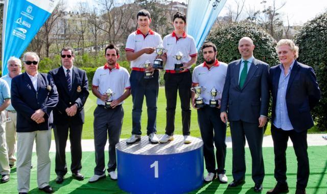 El equipo de Abra del Pas, campeón de España Interclubs de Pitch & Putt