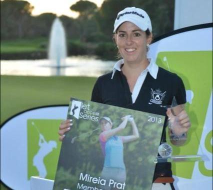 Mireia Prat, ganadora del Orden de Mérito 2013 del LET Access