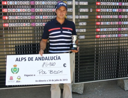 Pol Bech (-17), ganador del Alps Tour de Andalucía, en Almería. Colomo y Balmaseda, segundos empatados
