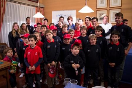 Los alumnos de la Escuela Alicante Golf pasaron el Ecuador