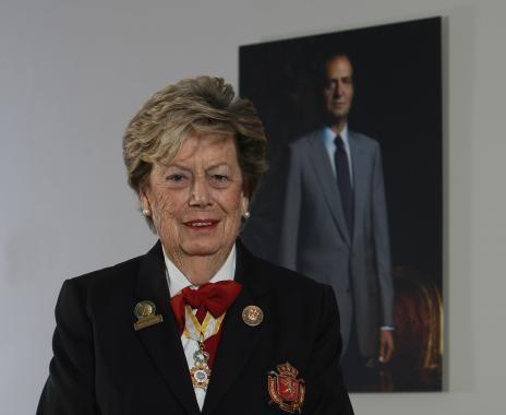 Emma Villacieros, Presidenta de Honor de la RFEG, Premio Nacional del Deporte 2013