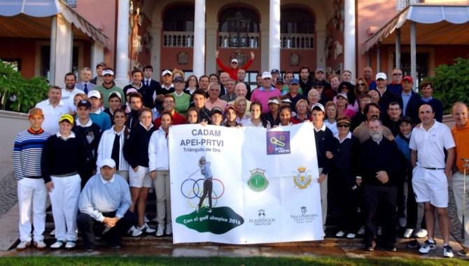 El IV torneo CADAM-APEI se disputó en Flamingos de Villa Padierna Palace Hotel, en la Costa del Sol