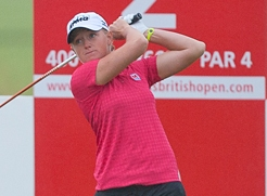 Stacy Lewis (-8) ganó el British Open Femenino después de jugar dos rondas en un domingo sin españolas en St Andrews