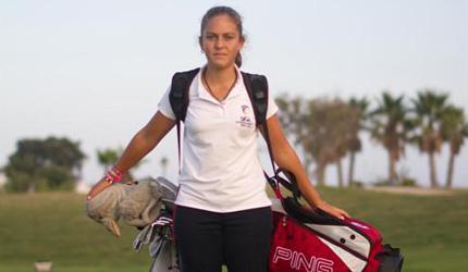 María Parra ganadora del Internacional Sub 16 del Norte de Inglaterra
