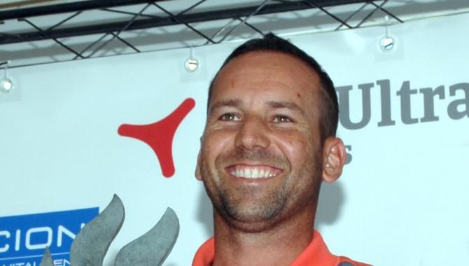 Sergio García recibió en Madrid el Premio al Mérito en Golf que entrega cada año la Fundación Síndrome de West