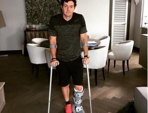 mcilroy lesión tobillo 15