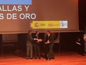 sergio garcía medalla de oro de la Real Orden del Mérito Deportivo 15